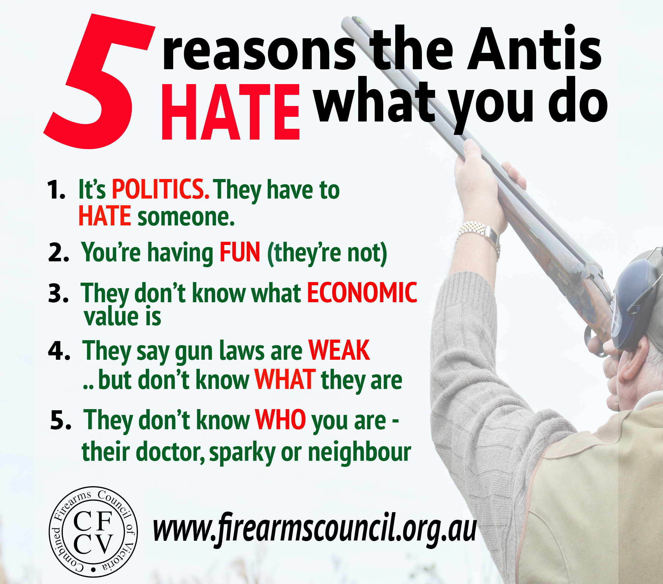5 reasons antis hate what you do