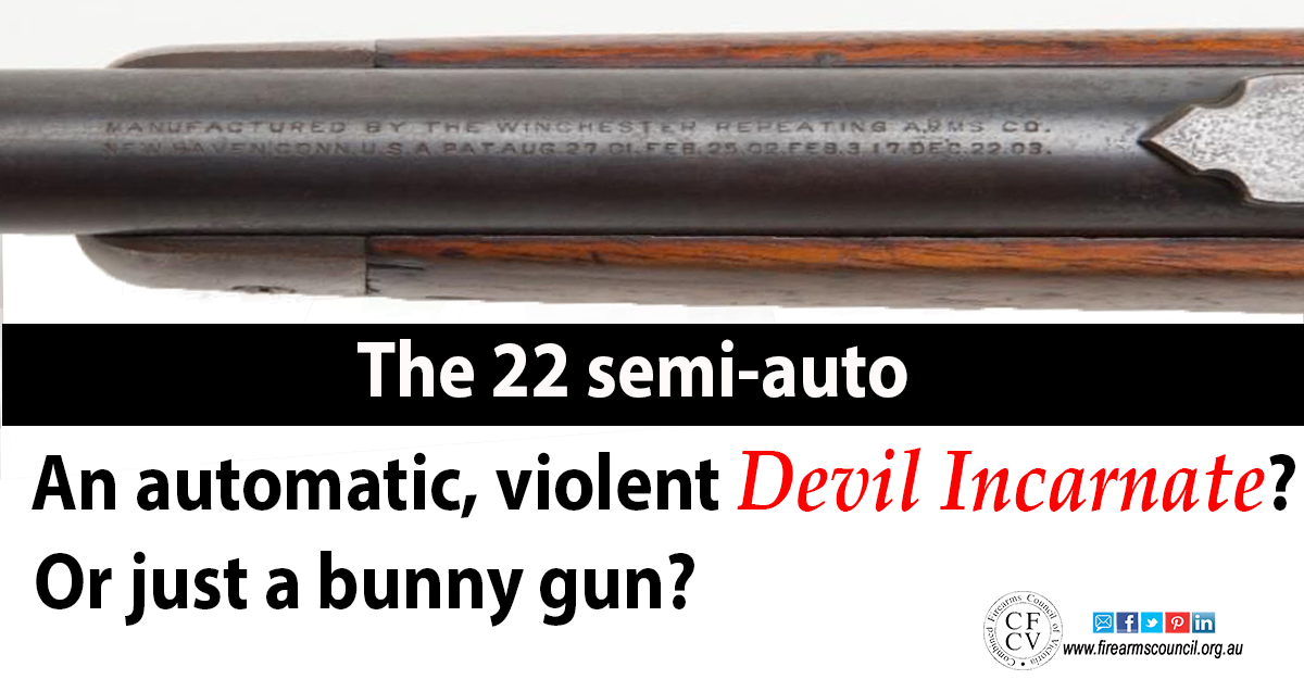 22 semi autos - devil incarnate or a bunny gun